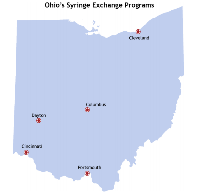Ohio Map With Major Cities | Map nhautoservice